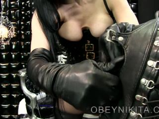 mistress nikita  lectric slave  mistress nikita