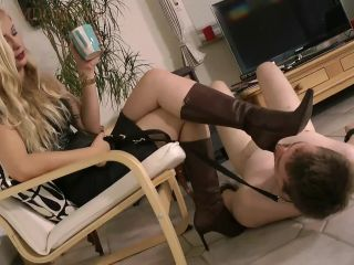 SlutForMyHeels – Lady Janet – Boot Heel Worship Cbt Humiliation