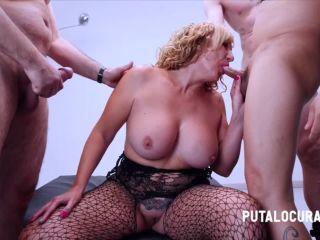 Victoria Vera – Creampie Gang With The Mature Woman – SE CORREN TODOS DENTRO DE LA MADURITA