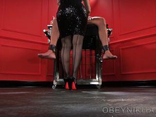mistress nikita femdom videos: red nails