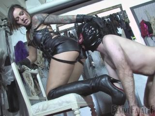 Online femdom video Femmefatalefilms - Mistress Nikky French - From The Bottom To The Top