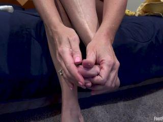 Andi James - Andi James Lotion Toes Foot Fetish
