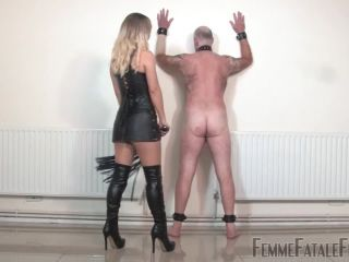 Bootlicking – Femme Fatale Films – Thrashed & Trampled – Mistress Vixen