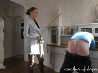 Miss Tina Kay Loves disciplining Naughty boys!