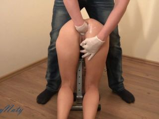 SexyNaty - Man's fist in my ass amateur