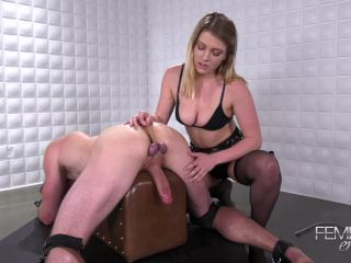 Female Domination – VICIOUS FEMDOM EMPIRE – Blue Balled Release – Mistress Giselle