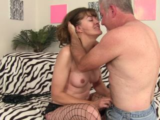 Beautiful horny granny got her cunt fucked