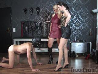 Porn online FemmeFataleFilms – Wrecking Balls – Complete Film. Starring Mistress Heather and Lady Victoria Valente femdom