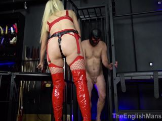 The English Mansion – Mistress Nikki Whiplash – Suck Cock For Mistress – Complete Movie