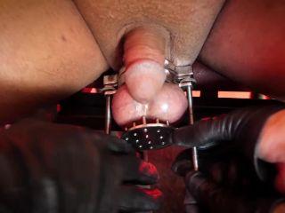 Stella Liberty  Extreme Lockdown  Bondage, CBT, Nipple Torture [Ball Abuse, CBT, Bondage Male, Extreme Domination, Redhead]