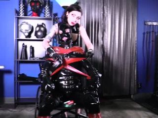 Cybill Troy FemDom Anti-Sex League  At Her Rubber Mercy [HAND OVER MOUTH]