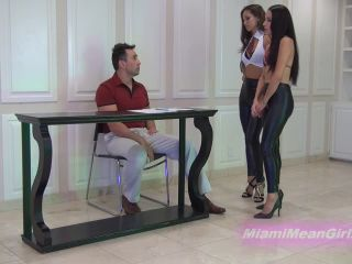 Office Domination – THE MEAN GIRLS – Mean Mind-Control Schoolgirls – Princess Bella and Goddess Rodea