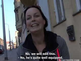Czech Streets - Squirting waitress