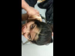 Desi girl amazing outdoor blowjob