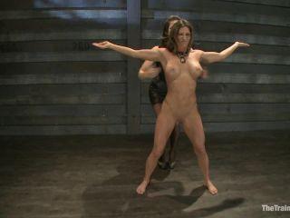 Kink.com- Lesbian Slave Training Ariel XFeatured Trainer Bobbi Starr-- Ariel X, Bobbi Starr