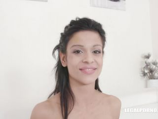 LegalPorno presents Sandra Soul first time anal and DP with black cocks IV303 – 27.04.2019