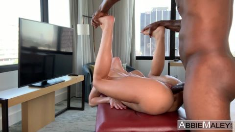 Abbie Maley, Wednesday Parker - Rubbed Down And Roughed Up (1080p)