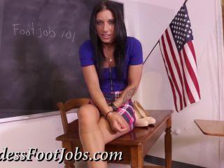 Online video femdom goddess footjobs – alissa avni – a practical curriculum – full