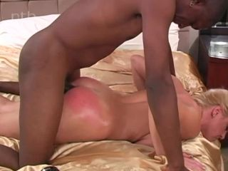 Great anal and pussy action with red ass!