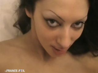 Lafranceapoil_com - Brunette takes cock for film