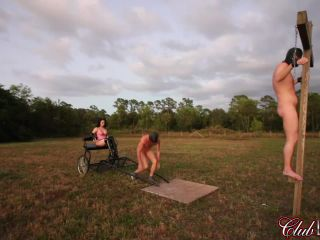 Whipping – ClubDom – Vivian Decorates his Back with Whip – Vivian Leigh