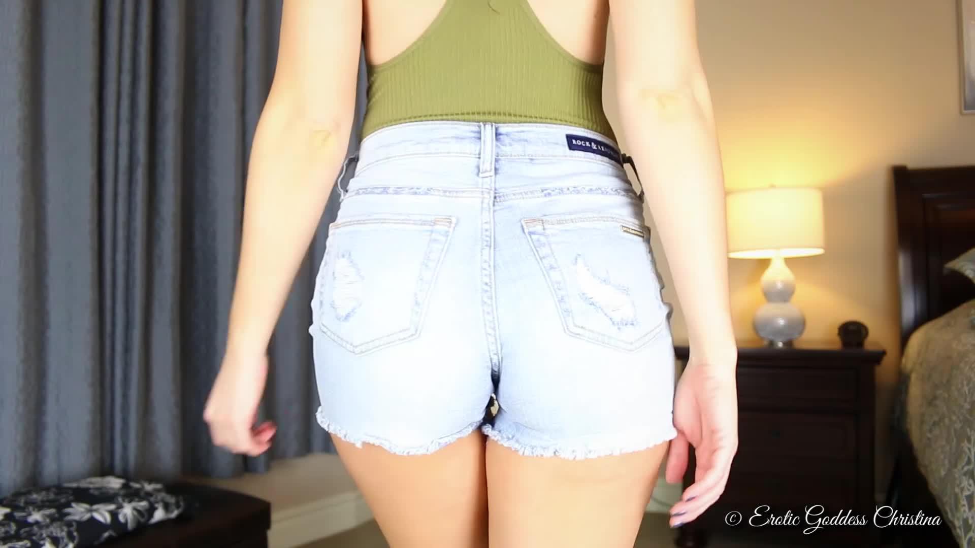Big Ass Tight Jeans Ebony