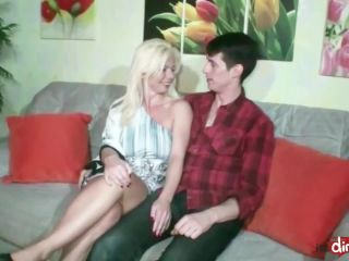 German step mom and aunt fuck son togehter
