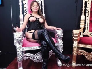 Asian Princess – AstroDomina – BOUND, GAGGED, TEASED AND DENIED feat. AstroDomina