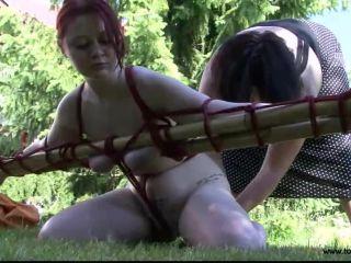 Outdoor Bondage for Alexia Valentine