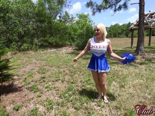 Cruel Unusual FemDom  A Cheerleader's Kicking Bag. Starring Goddess Nadia White