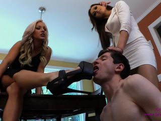 kissing fetish feet | Brat Princess 2 – Alexis and Cameron – Two Mean Hot Alpha Girls Humiliate Little Beta Dweeb (720 HD) – Pantyhose, Spit | brat princess 2