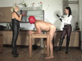 FemmeFataleFilms  Roasted  Complete Film. Starring Mistress Heather and Lady Mephista