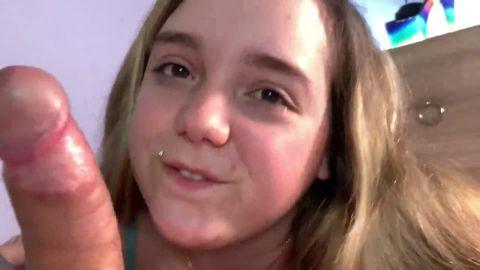 KimberlyCaprice - Ein geiler Quickie mit Creampie und Sperma im Gesicht [FullHD 1080P]