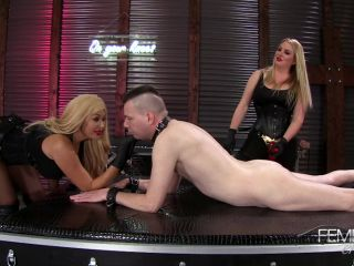 Pegging – VICIOUS FEMDOM EMPIRE – Strap-on Queens – Lexi Sindel and Summer Brielle