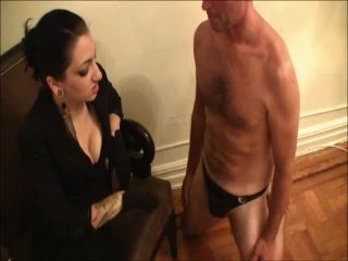 CBT Slave Gets Demoted to Human Ashtray