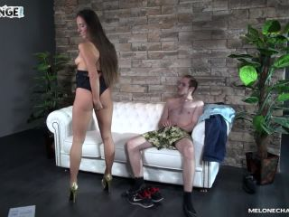 Four guys try to fuck goddesa melone but even with wendy moons help fa ...