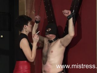 Mistress Alexandra – Open your mouth or I will make you do it – Human Ashtray