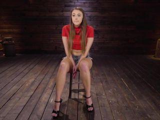 Playful, Bratty, and Helpless Gia Derza in Bondage