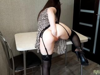 Fiftiweive69 anal prolapse stretching on the table homemade