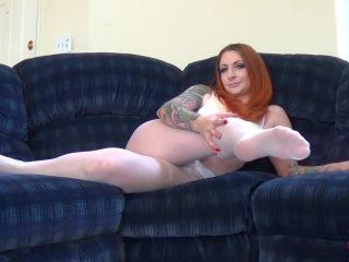 Olivia Rose - White Pantyhose Perv