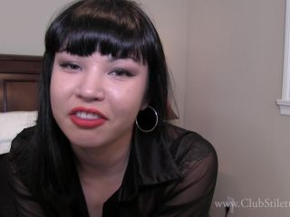 clubstiletto  raevyn rose  you're going to eat my man's ass  handjob