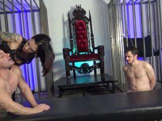 Mistress Eva Cruz – DomNation – THE ASS RAYPE TRAIN! Starring Mistresses Cybill Troy & Eva Cruz