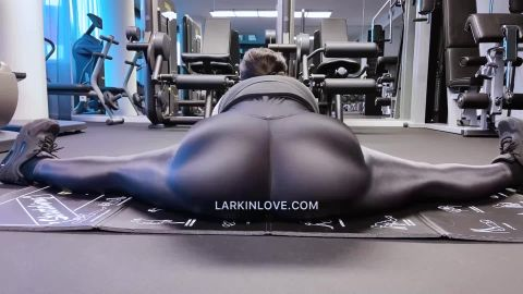 Larkin Love - Gooning at The Gym for Your Personal Trainer [FullHD 1080P]