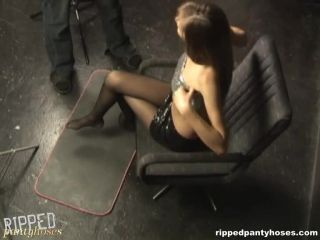 RIPPEDPANTYHOSES - rph0005b Torn pantyhose is a nice lesson Cam 2