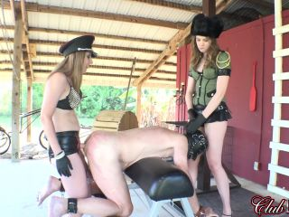 Cruel & Unusual FemDom  Plowing Man Holes. Starring Elena Koshka and Sabrina Paige