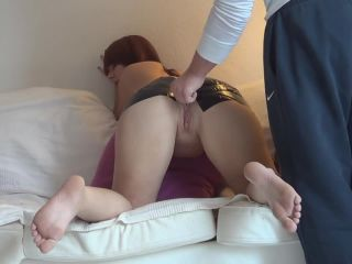 JungesfetischpaarNRW penetrates more dildos in anal gape