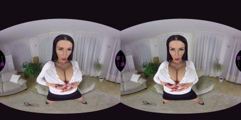 Patty Michova - Raven-haired sexbomb (Virtual Reality, VR, Oculus Rift, Vive)