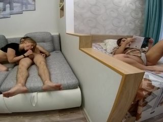 Amateur - They think theyre alone but I cum hard by watching them! Ana ...