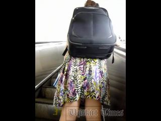 Upskirt-times.com- Ut_1696# Girl with a big backpack in a short green skirt has attracted my attention....