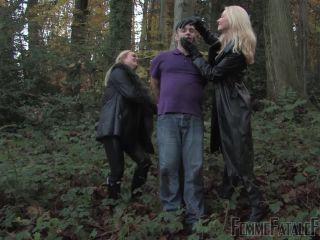 Leather – Femme Fatale Films – Being Evil – Complete Film – Mistress Athena and Mistress Eleise de Lacy